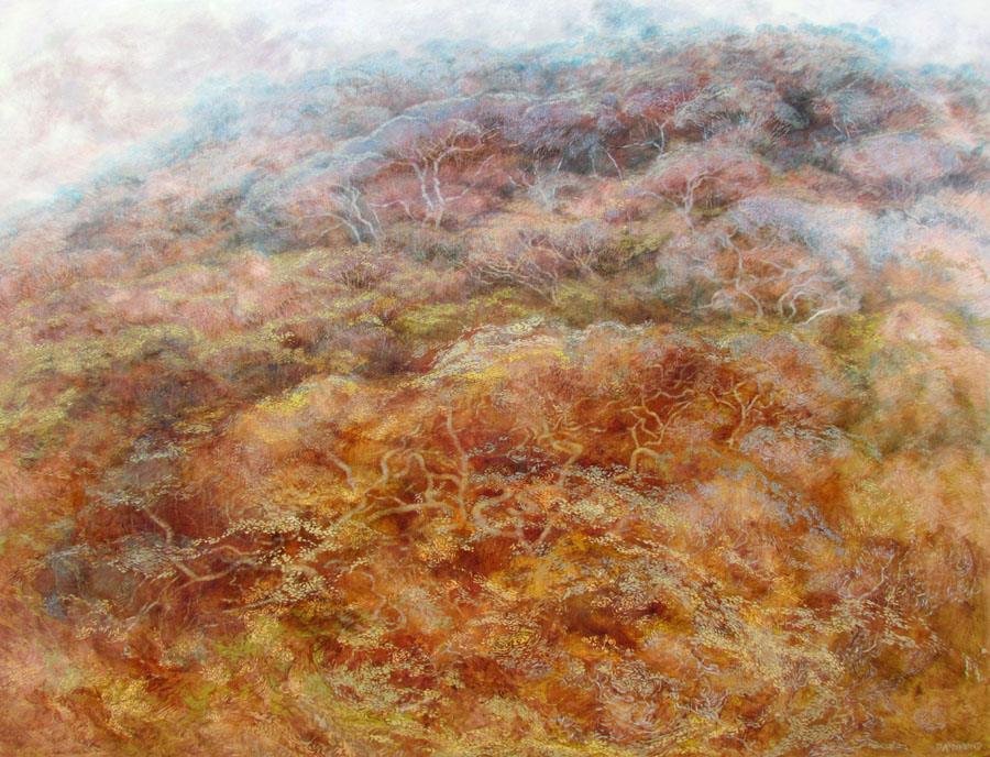 Dune Forest Dreaming Oil on Canvas 130x170cm   Copy