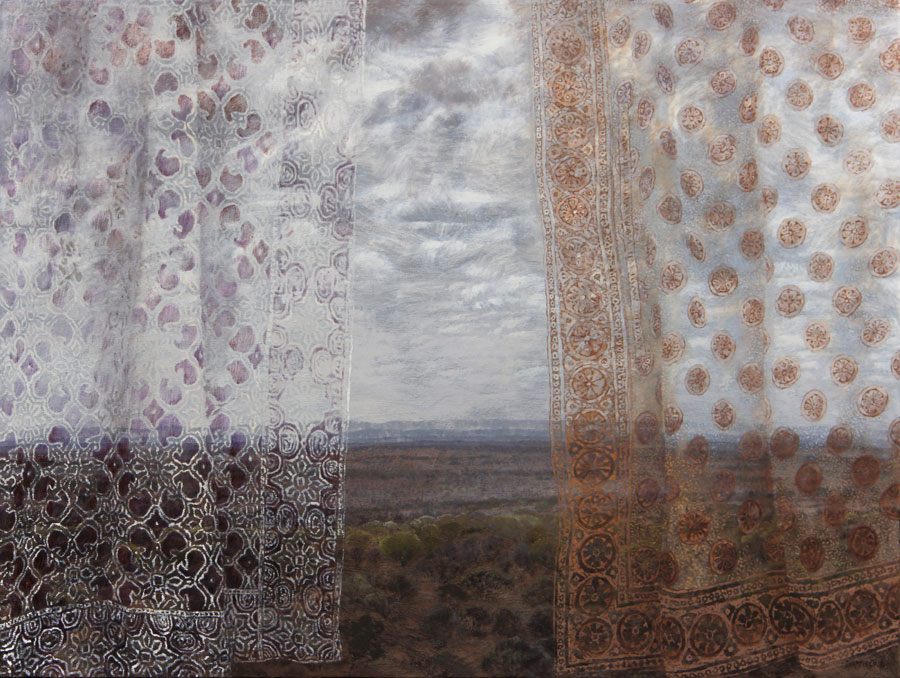Karin Daymond, Transient, oil on canvas, 90 x 120cm