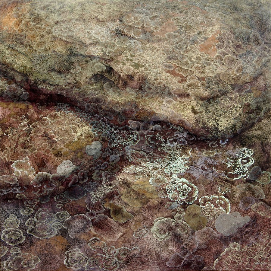 Karin Daymond The Secret Life Kaapsehoop oil on canvas 110 x 110cm